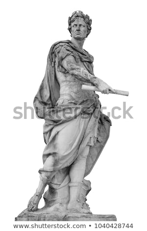 ancient statues isolated on white stock photo © pzaxe