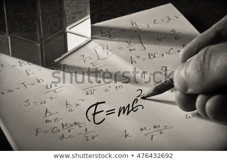 Formula of success on a smudged blackboard Stock photo © bbbar