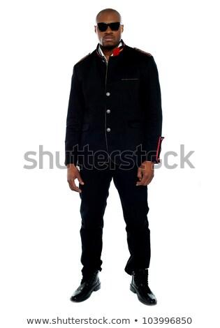 modny · Afryki · mężczyzna · czarny · odizolowany - zdjęcia stock © stockyimages
