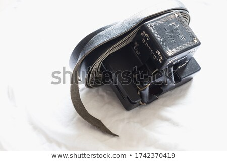Black Tefillin Cover Stock photo © jadthree