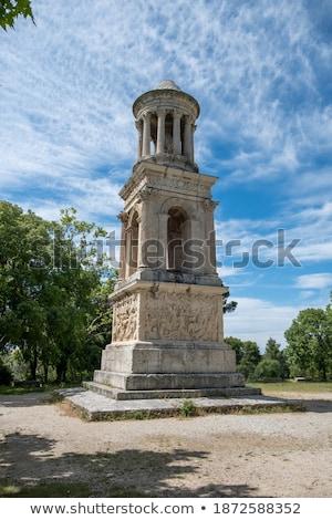Romeinse · Frankrijk · blauwe · hemel · hemel · natuur · reizen - stockfoto © frank11