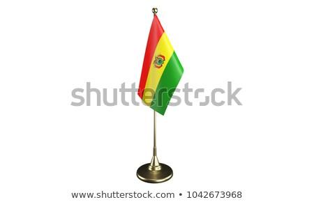 ミニチュア フラグ ボリビア 孤立した 会議 ストックフォト © bosphorus