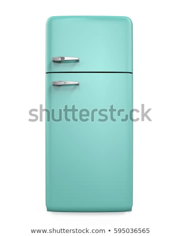 Classic Fridge Stock photo © ozaiachin