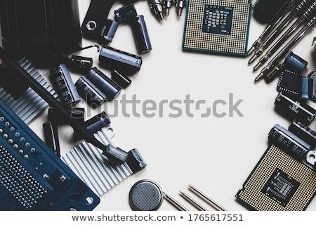 ventilador · portátil · mujer · de · negocios · negro · coche · nina - foto stock © photography33