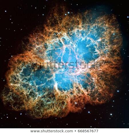 yengeç · nebula · rüzgâr · takımyıldız · gökyüzü - stok fotoğraf © rwittich
