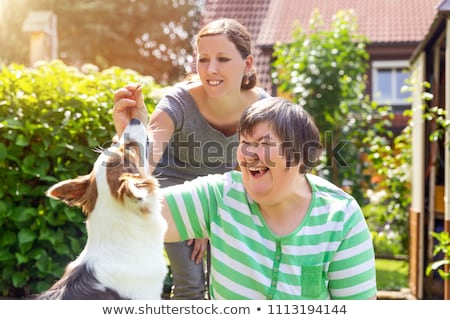Stock photo: Mental disability