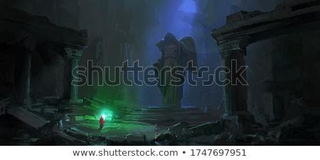 starożytnych · piwnica · zdjęcie · ciemne · tunelu · piekła - zdjęcia stock © mikko