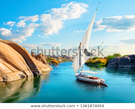 Stock photo: Feluccas On The Nile