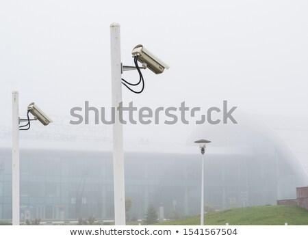 security camera on a pole stock photo © Florisvis