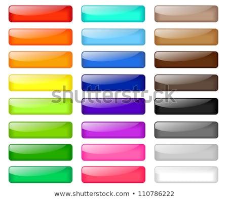 Web boutons verre vert Rainbow rouge Photo stock © leonardo