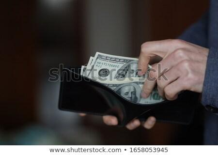 handen · hand · persoon · vingers · kaukasisch · een - stockfoto © len44ik