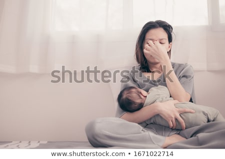 Young mother Stock photo © taden