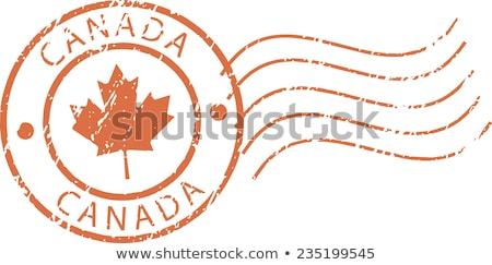 Stock photo: Canadian post stamp