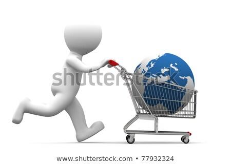 földgömb · eladva · üzenetek · világ · felirat · piac - stock fotó © kirill_m