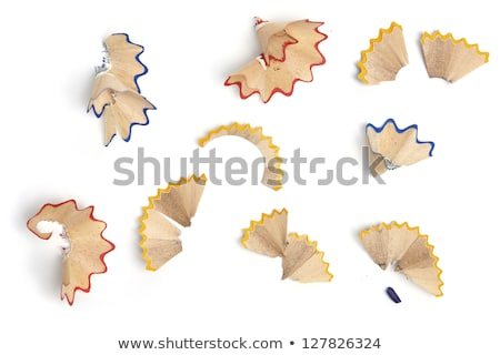 pencil shavings background Stock photo © sirylok