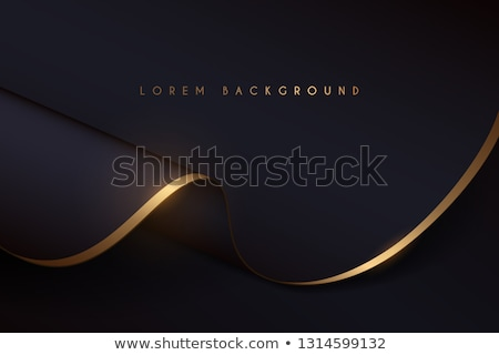 Stock photo: Gold Satin Draping Background