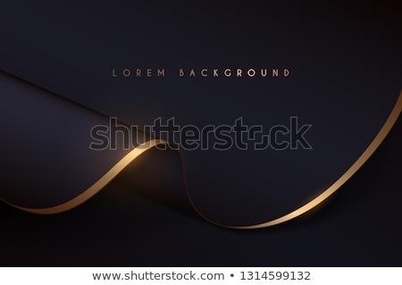 gold satin draping background stock photo © frannyanne