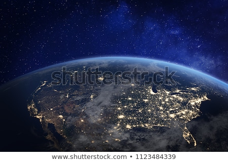 Night in North America Stock photo © Harlekino