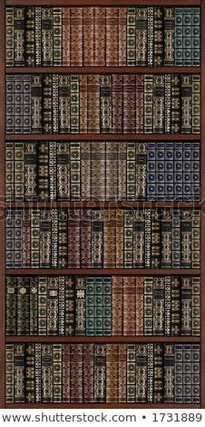 Full Bookcase Backdrop Stock photo © blamb