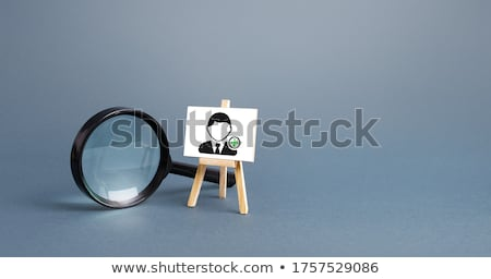 New Skills - Magnifying Glass. Stock photo © tashatuvango