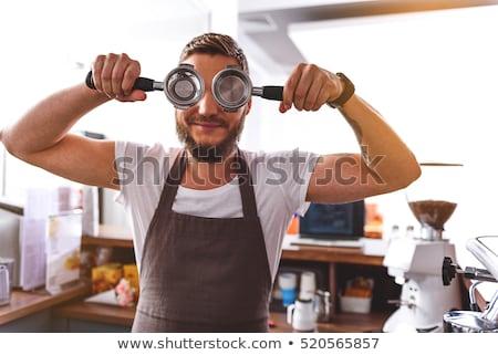 vintage guy enjoying drugs stock photo © stokkete