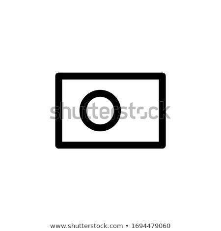 Bangladesh bandeira ícone isolado branco internet Foto stock © zeffss