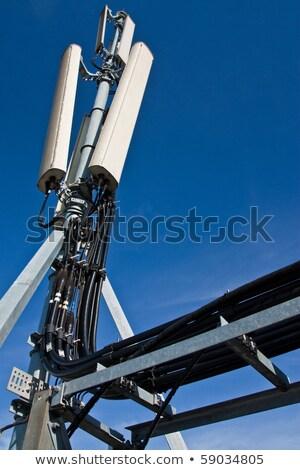 mobiltelefon · antenna · égbolt · telefon · televízió · technológia - stock fotó © stevanovicigor