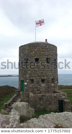loophole towers in Guernsey Stock photo © chris2766