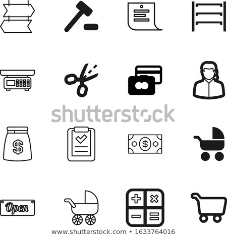 Face with Headset Icon on Message Board. Stock photo © tashatuvango