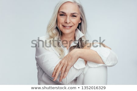 Stock photo: senior portrait