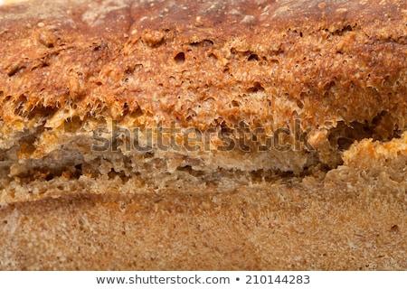 large loaves of bread traditionally roasted Stock photo © wjarek