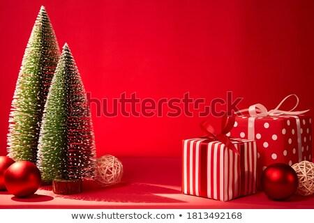 Mini drzew stylizowany minimalizm drzewo projektu Zdjęcia stock © tracer