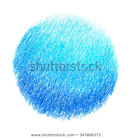 Сток-фото: синий · пастельный · карандаш · место · изолированный · белый