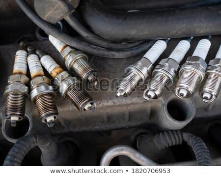 Engine - spark plugs Stock photo © papa1266