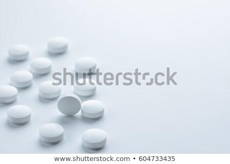 Red pill or white pill stock photo © entazist