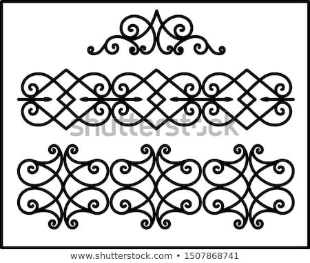 Balcony pattern Stock photo © Artlover