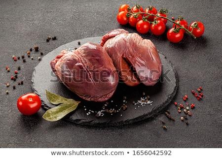 kidney raw meat  Stock photo © OleksandrO
