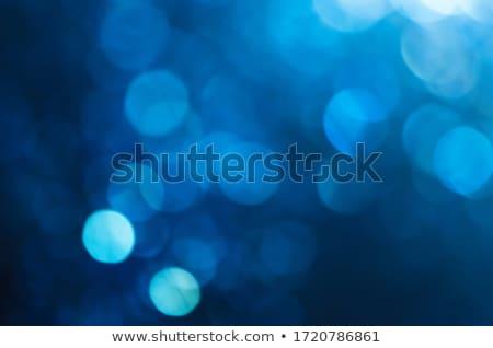 Blurred Blue Circles Stock photo © PokerMan