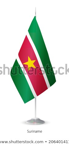 европейский Союза Суринам флагами головоломки изолированный Сток-фото © Istanbul2009