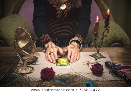 Fortune teller forecasting the future Stock photo © wavebreak_media