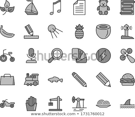Pencil and magnifier Stock photo © Nobilior