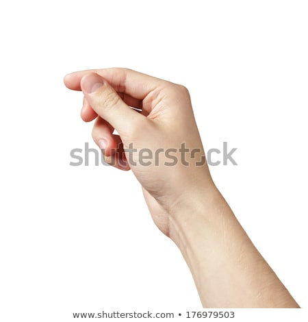 Business man hand grab something Stock photo © fuzzbones0