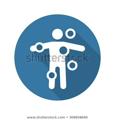 Symptom Checker and Medical Services Icon. Flat Design. Stock photo © WaD