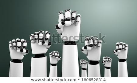 робота революция технологий механический человека человек Сток-фото © Lightsource
