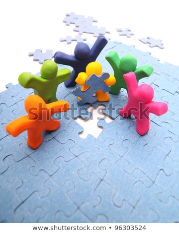 gemeenschap · sterkte · groep · teamwerk · Open - stockfoto © tashatuvango