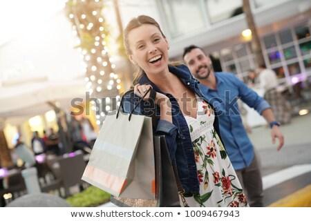 Run to go shopping Stock photo © alphaspirit