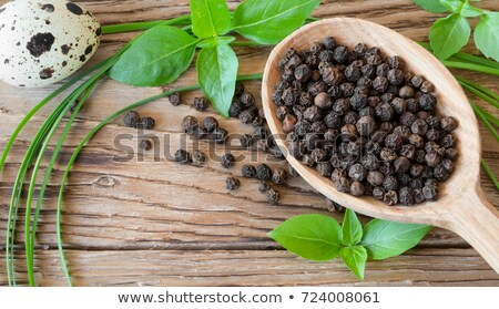 Pile of Organic Black pepper (Piper nigrum) Stock photo © ziprashantzi