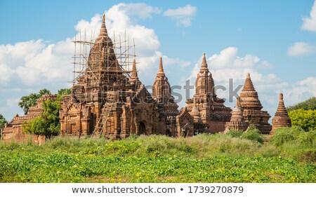 Myanmar · oude · landschap · top · verbazingwekkend - stockfoto © mikko