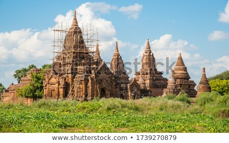 Old abandoned pagoda in Bagan Stock photo © Mikko