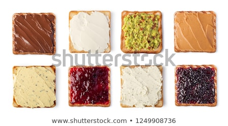 Slice of bread with spread Stock photo © Digifoodstock